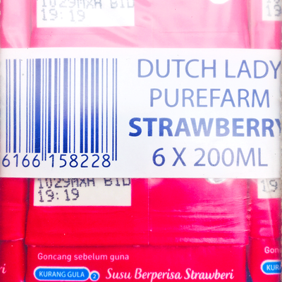 Dutch Lady UHT Strawberry 200ML