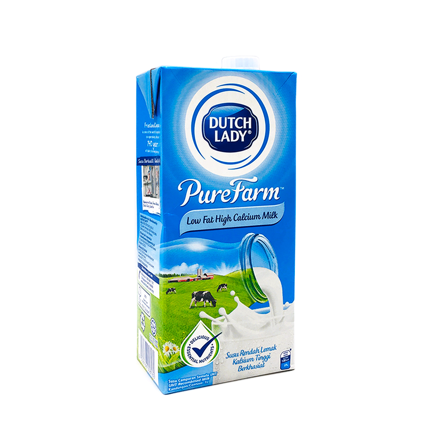 Dutch Lady UHT Low Fat 1L