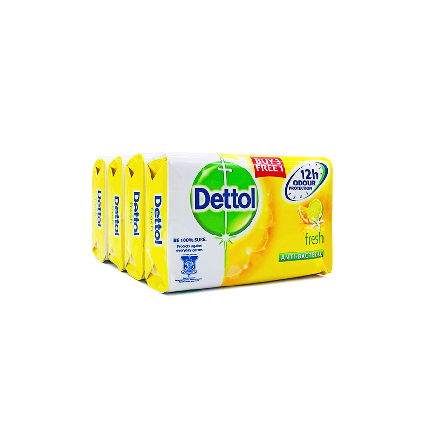 Dettol Soap Fresh (3+1) x 105g