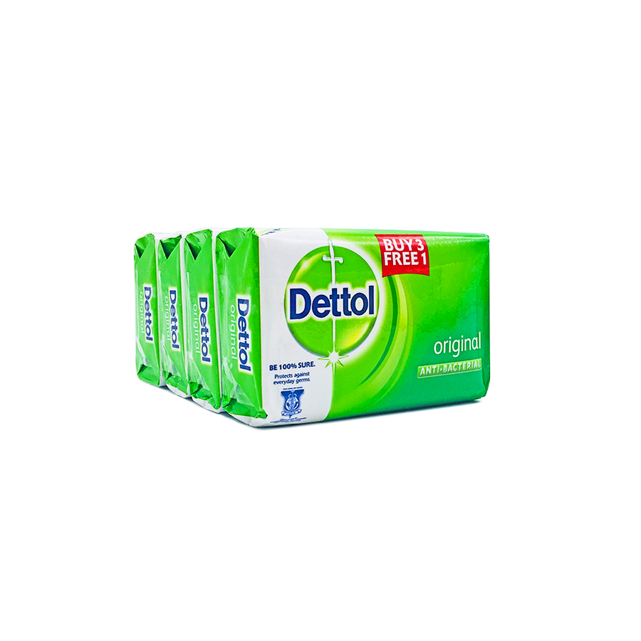 Dettol Soap Original (3+1) x 105g