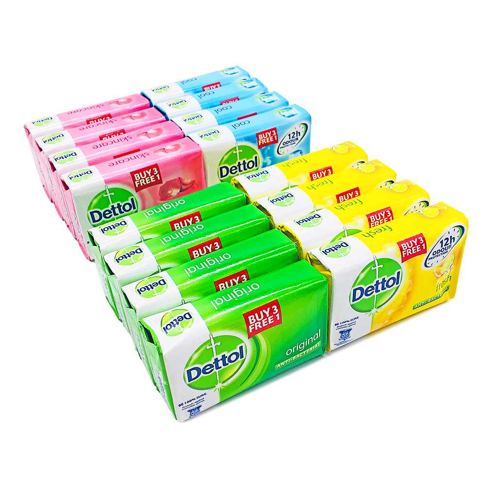Dettol Soap Original 3 1 X 105g Bulky Series Package
