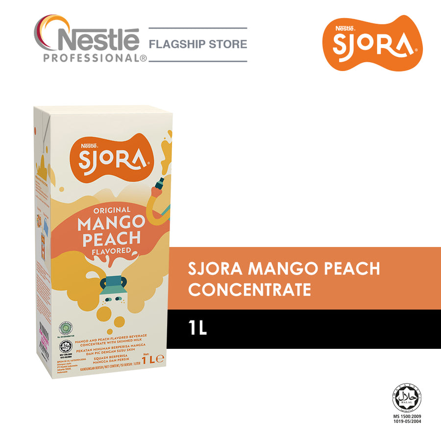Sjora Mango Peach Concentrate 1L