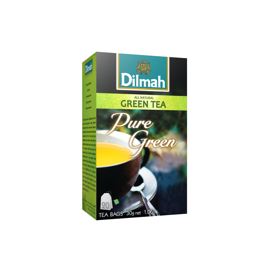 Dilmah All Natural Green Tea Pure Green 20's x 1.5G