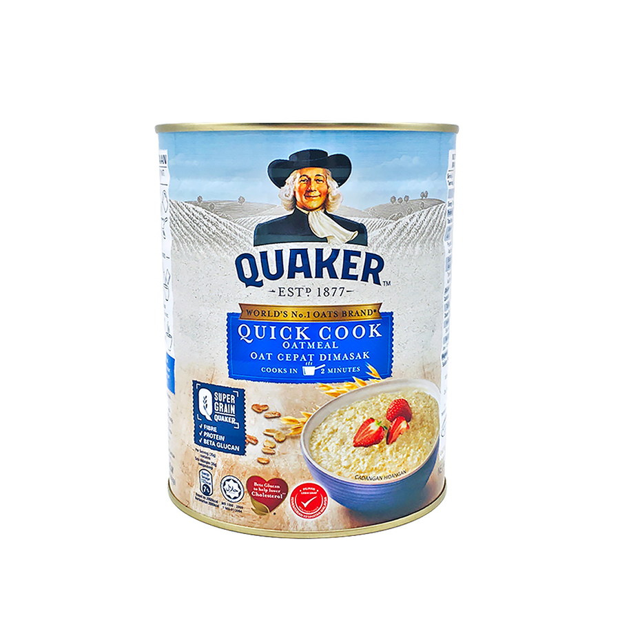Quaker Quick Cook Tin 800g