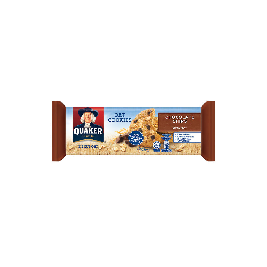 Quaker Cookies Choco Chips 108g