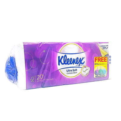 Kleenex Bath Tissue Ultra Soft Regular 20R X 200'S