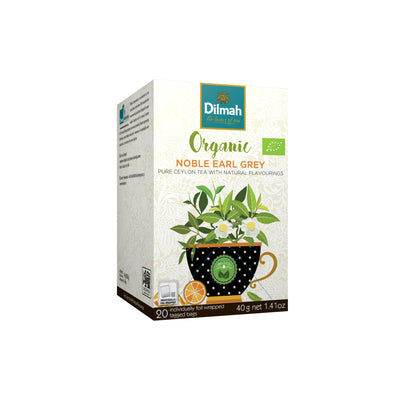 Dilmah Organic Tea Noble Earl Grey 20's x 2G