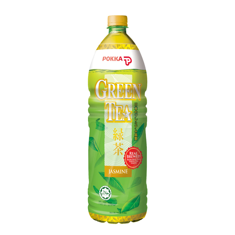 Pokka Jasmine Green Tea Pet 1.5L