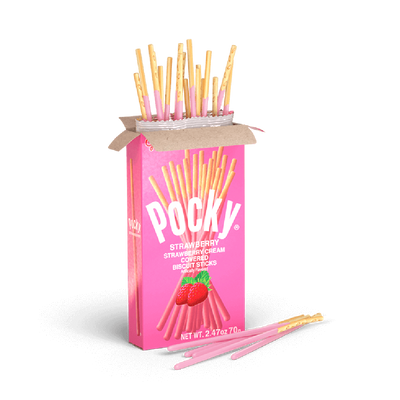 Glico Pocky Strawberry Stick 38G