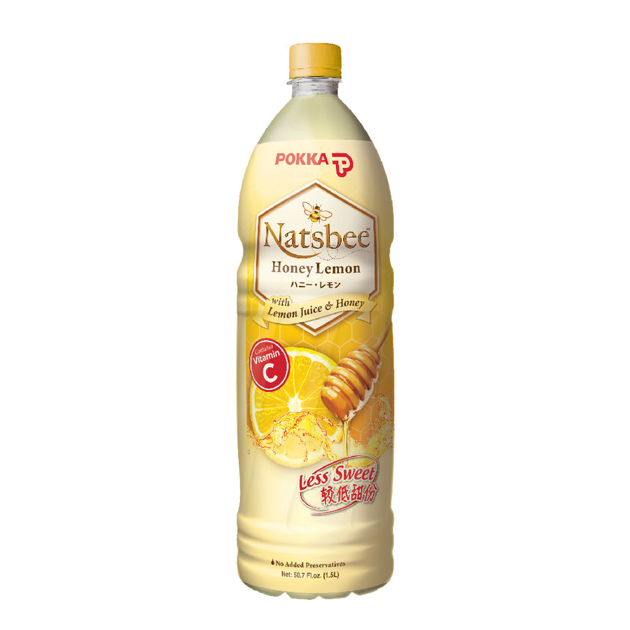 Pokka Natsbee Honey Lemon Pet 1.5L