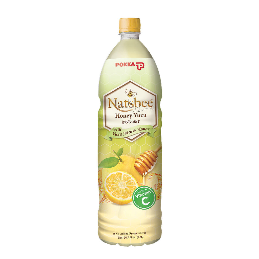Pokka Natsbee Honey Yuzu Pet 1.5L