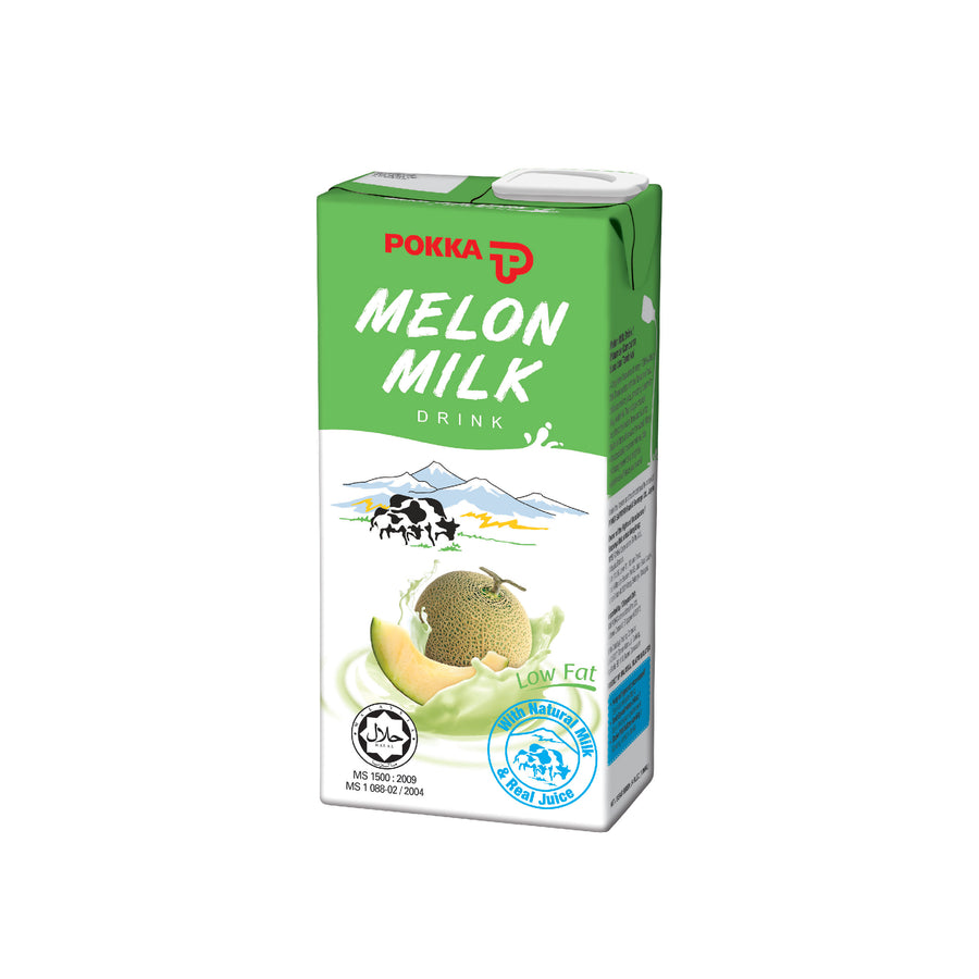 Pokka Melon Milk Tetra Pack 1L