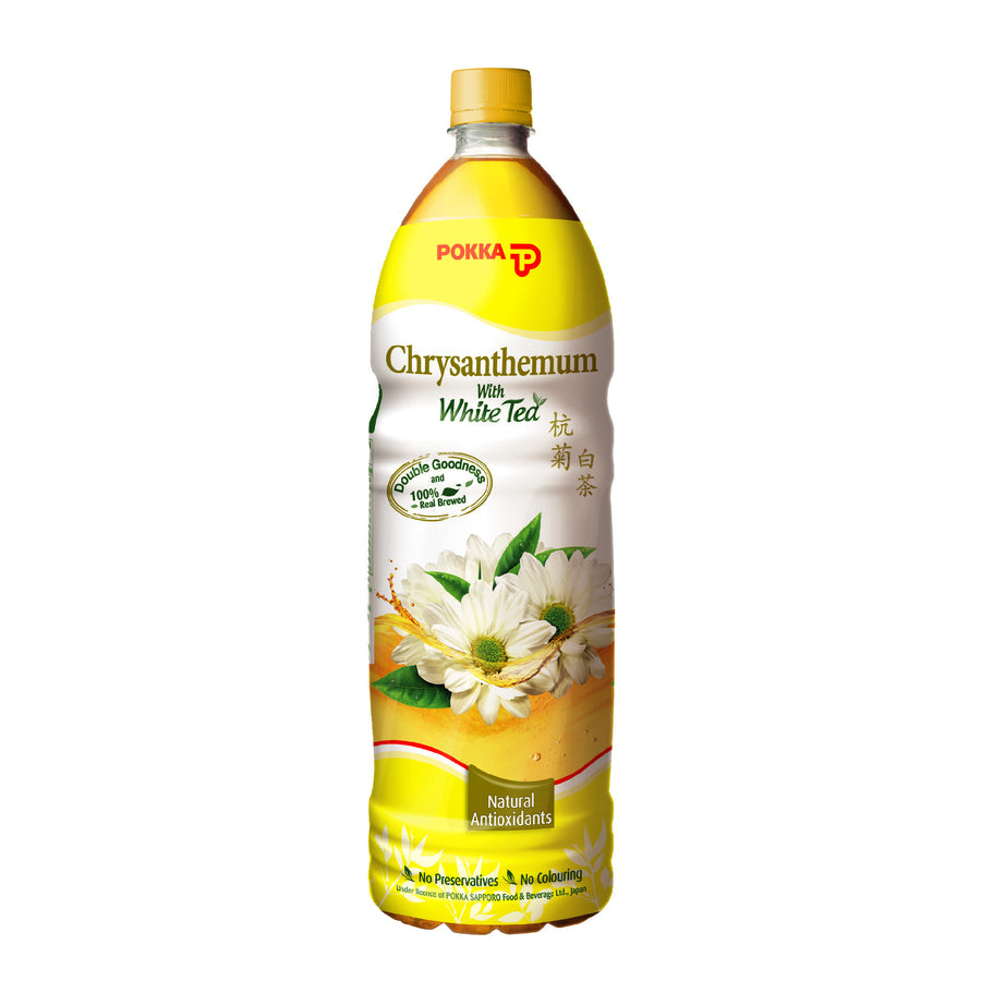 Pokka Chrysanthemum White Tea Pet 1.5L