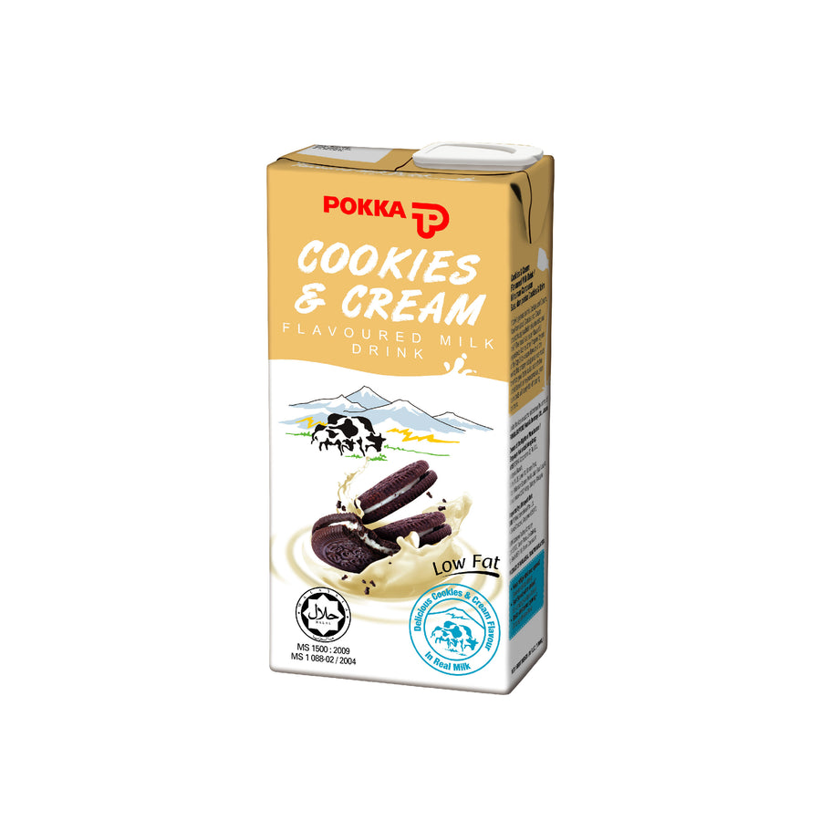 Pokka Cookies & Cream Milk Tetra Pack 1L