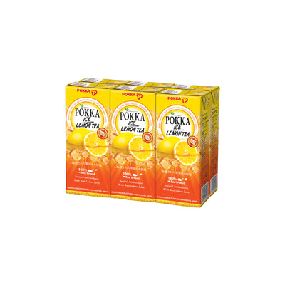 Pokka Ice Lemon Tea Tetra Pack 250ML