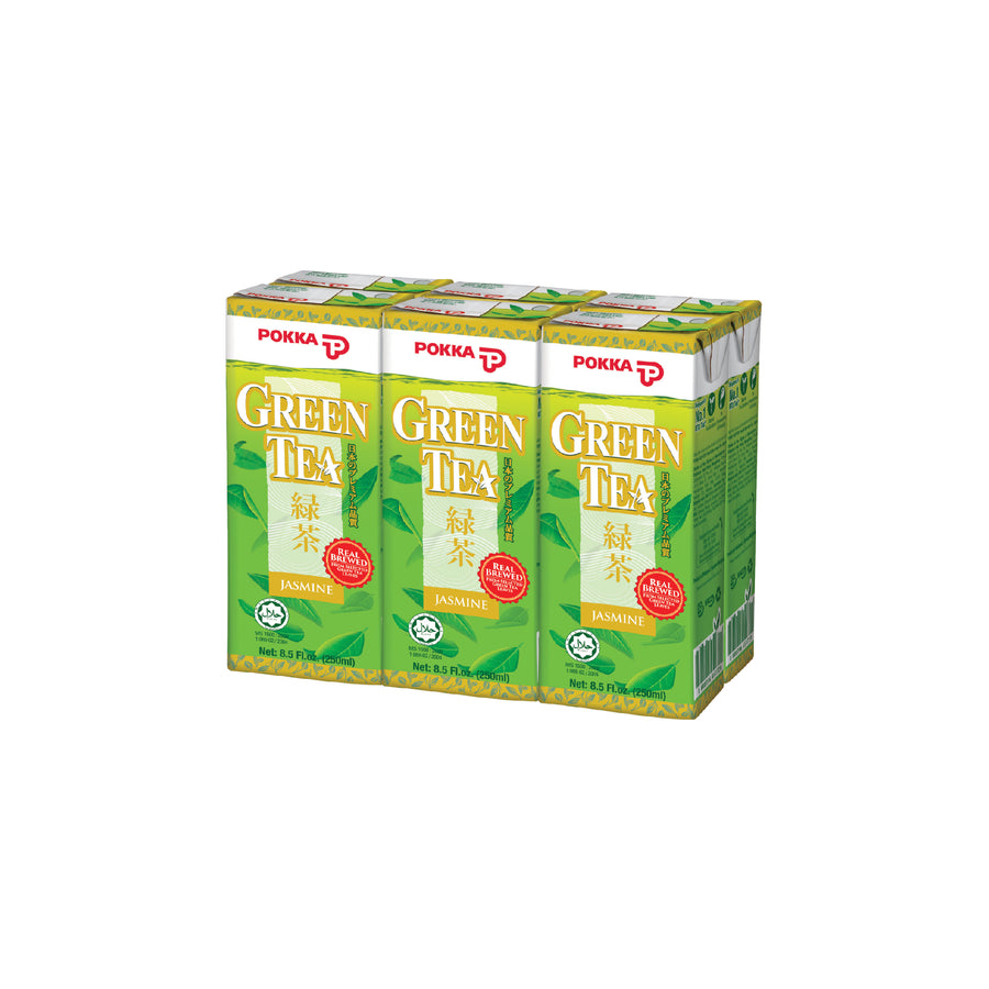Pokka Jasmine Green Tea Tetra Pack 250ML