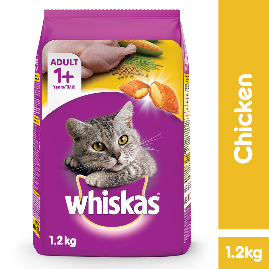 Whiskas Chicken 1.2Kg
