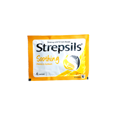Strepsils Soothing (Honey & Lemon) 6's