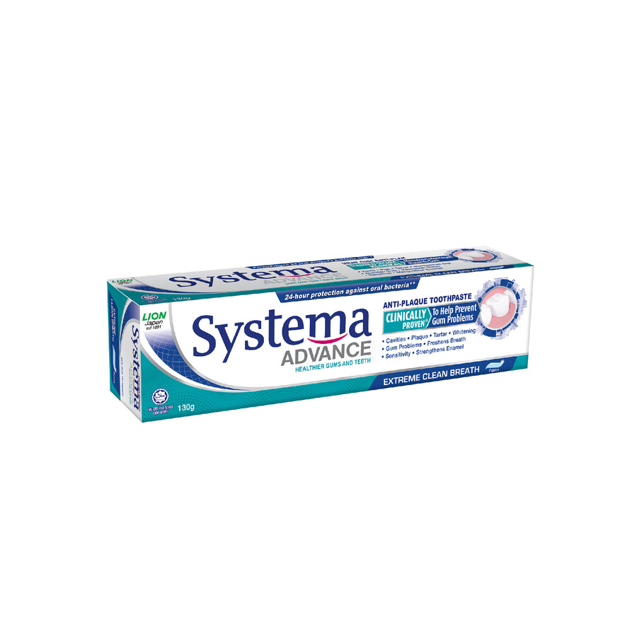 Systema Advance Extreme Clean Breath Toothpaste 130G