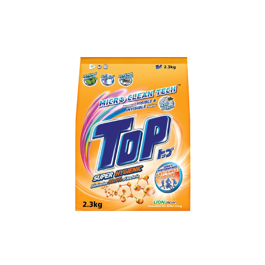 Top Detergent Powder Super Hygienic 2.3KG