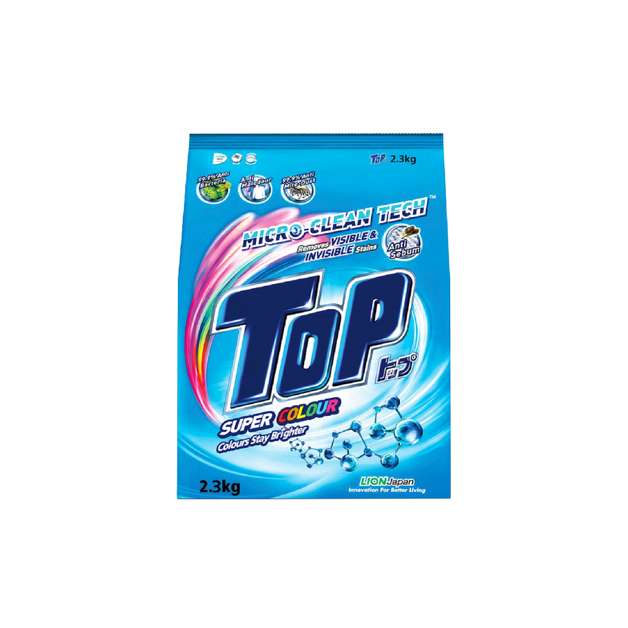 Top Detergent Powder Super Colour 2.3KG