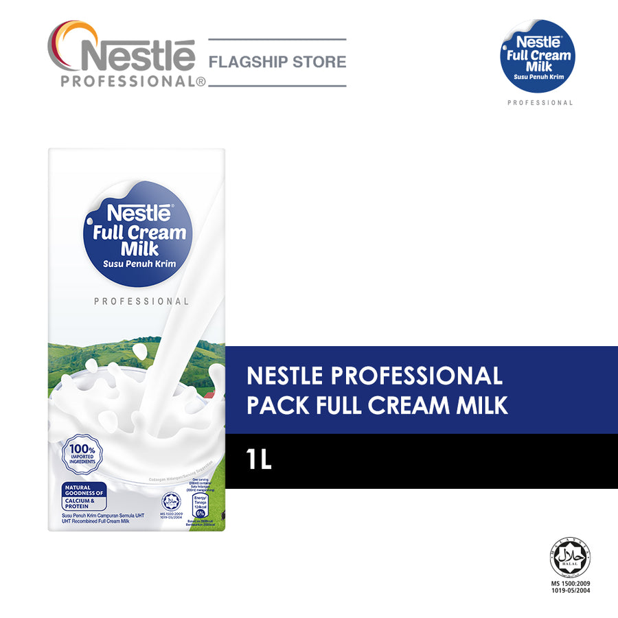 Nestle RTD Full Cream Milk 1L