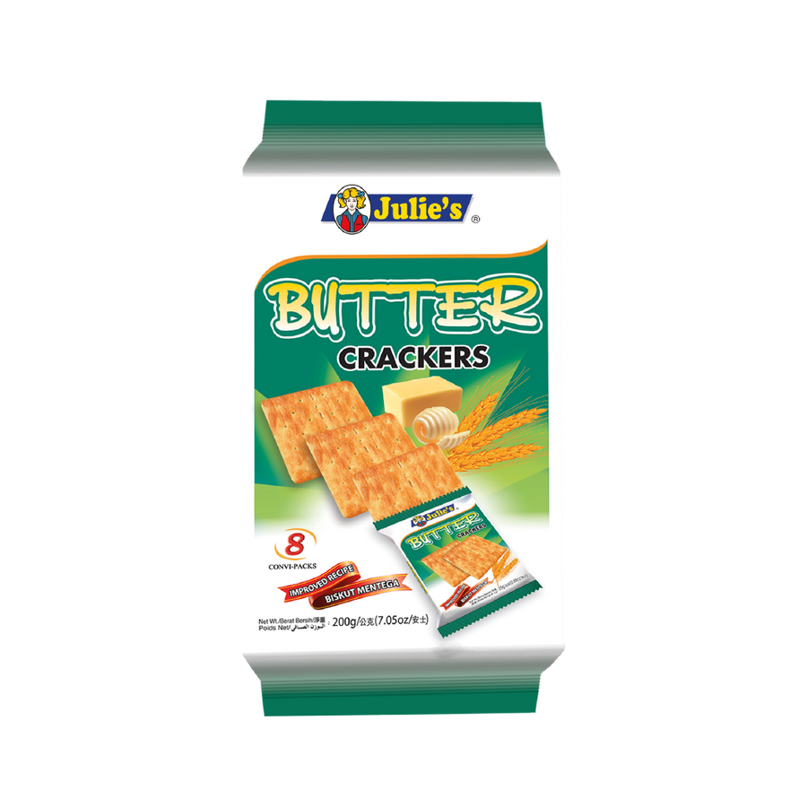 Julie's Butter Crackers 200g