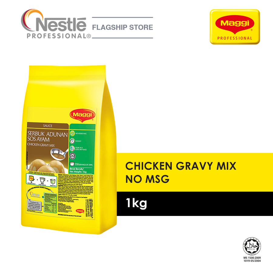 Maggi Chicken Gravy Mix No MSG 1KG