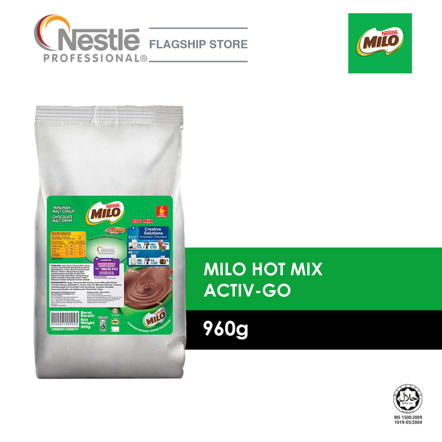 Milo Hot Mix Activ-Go 960G