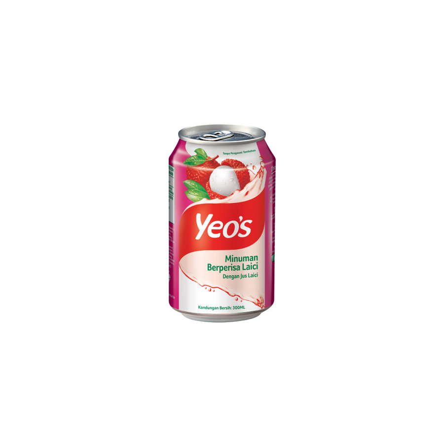 Yeo's Lychee Drink Can 24'S X 300ML