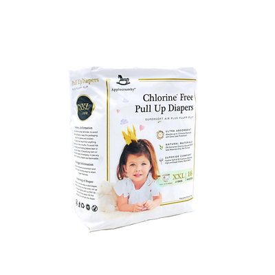 Applecrumby Chlorine Free Pull Up Diaper XXL16