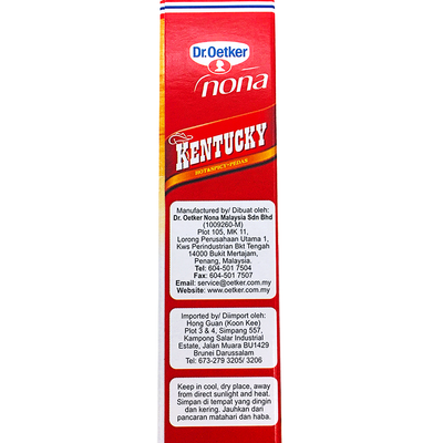 Dr.Oetker Nona Kentucky Flour Hot & Spicy 150g