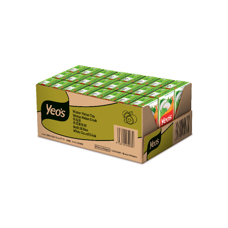 Yeo's Winter Melon Drink Tetra Pack 24'S X 250ML