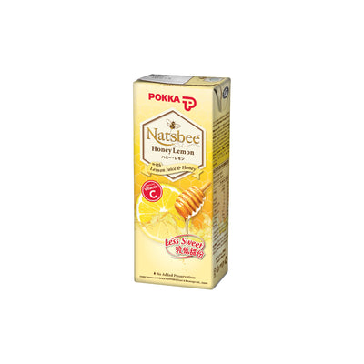 Pokka Natsbee Honey Lemon Tetra Pack 250ML