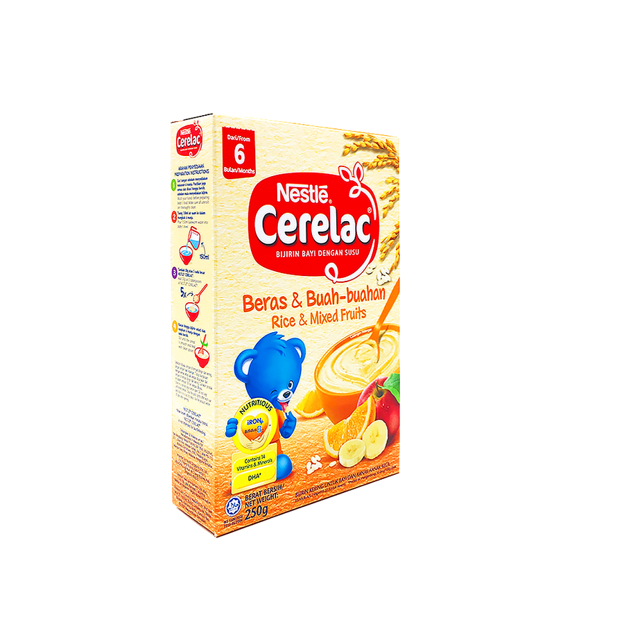 Cerelac BL FE Rice Mix Fruit 250G