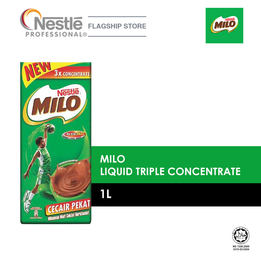 Milo Liquid Triple Concentrate 1L