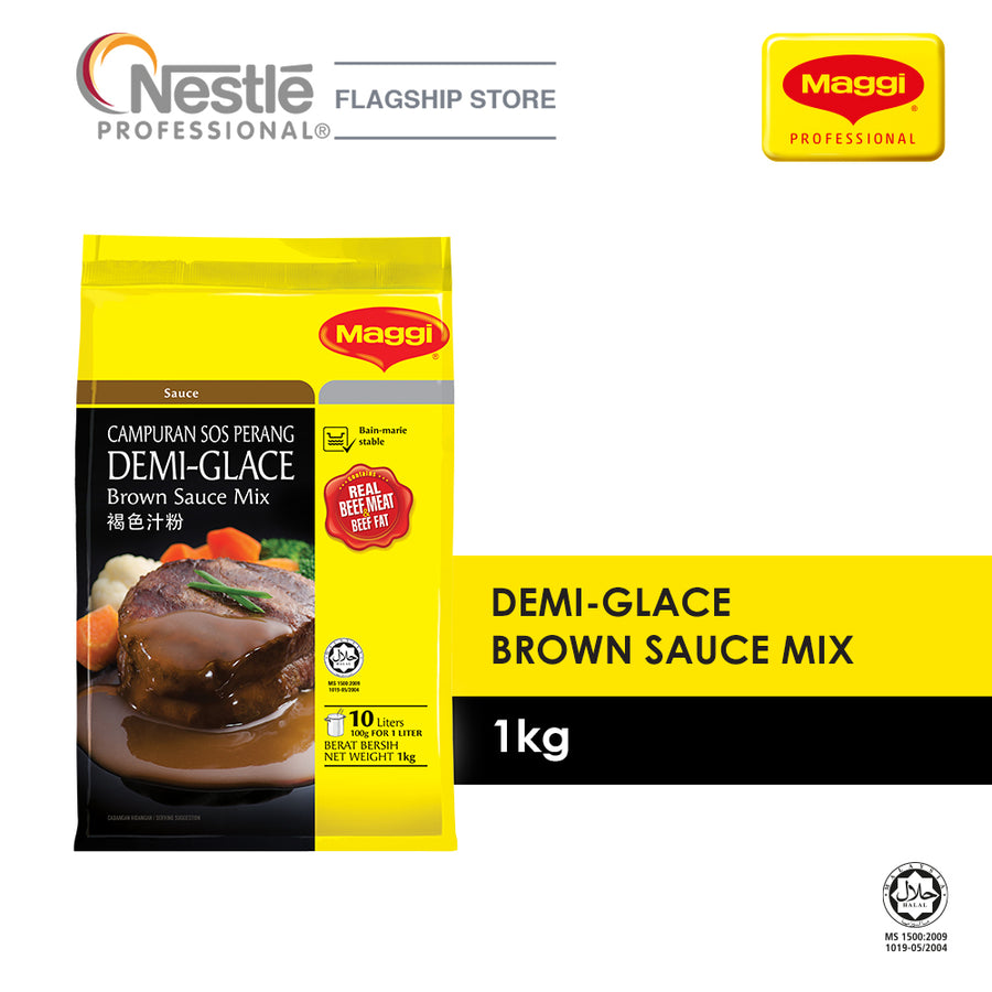 Maggi Demi-Glace Brown Sauce Mix 1KG