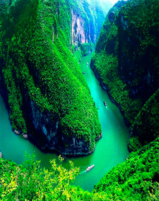South of Yangzi River+ Three Gorges