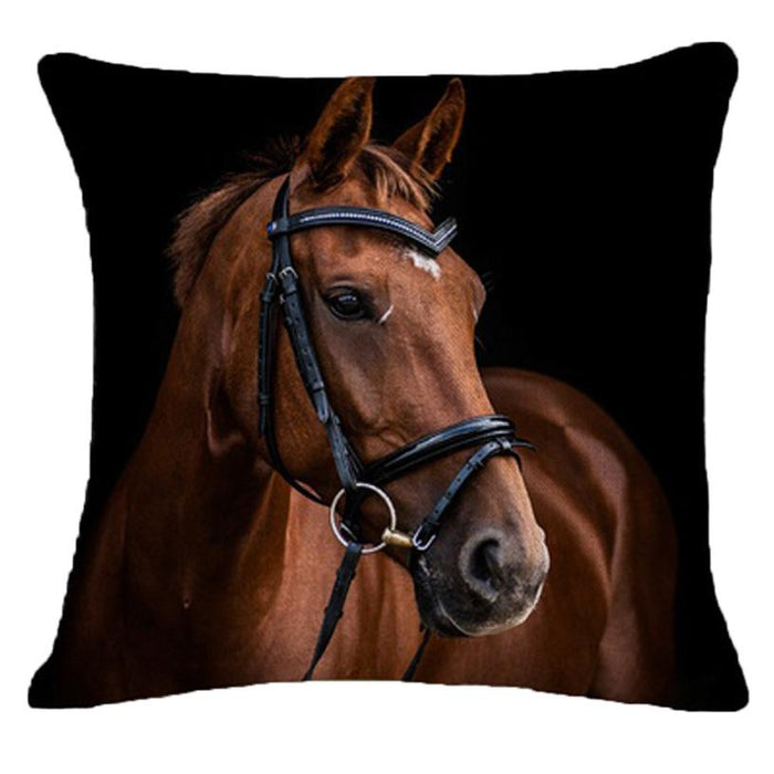 Decorative Horse Pillow - pillowboss