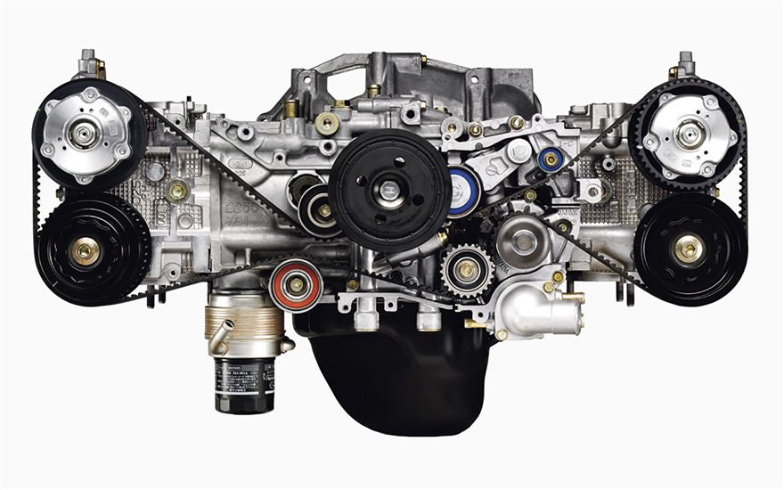 The main differences between the FA and EJ engines