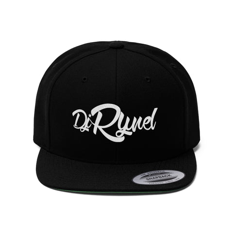 DJ Rynel Flat Bill Hat
