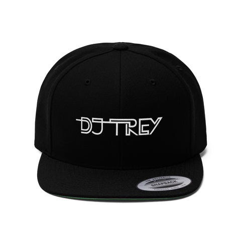 DJ Trey Flat Bill Hat
