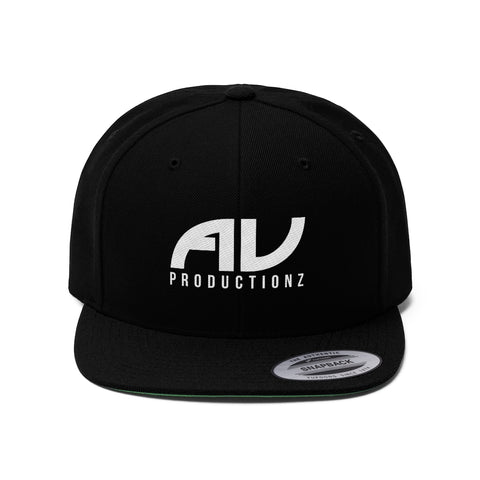 AV Productionz Flat Bill Hat