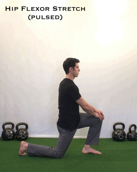 Half Kneeling Hip Flexor Stretch