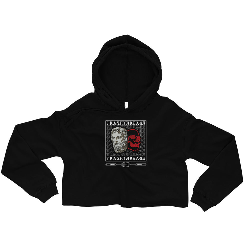 Trash Threads Duality Crop Hoodie