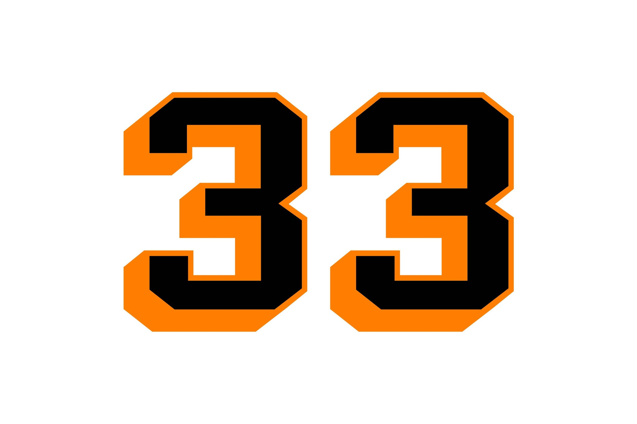 33 >> Sticker 33 Helmet Small Kentland Merchandise Store