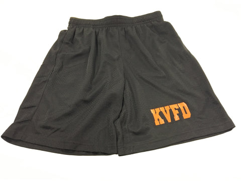 SHORTS- Kentland Black Mesh