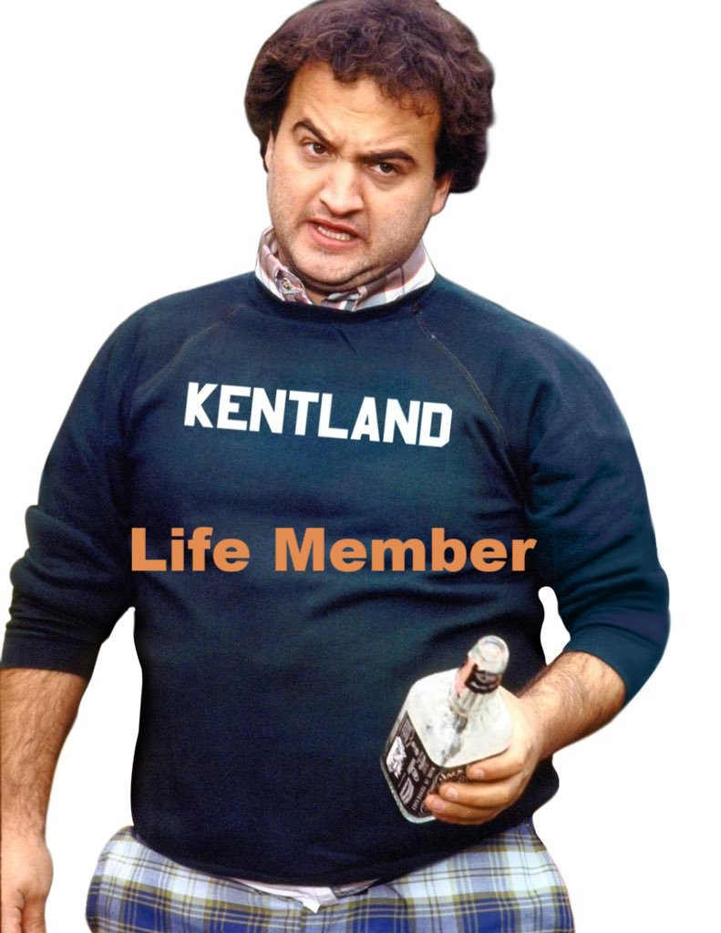 "John 'Bluto' Blutarsky ""KENTLAND"" themed College Shirt"