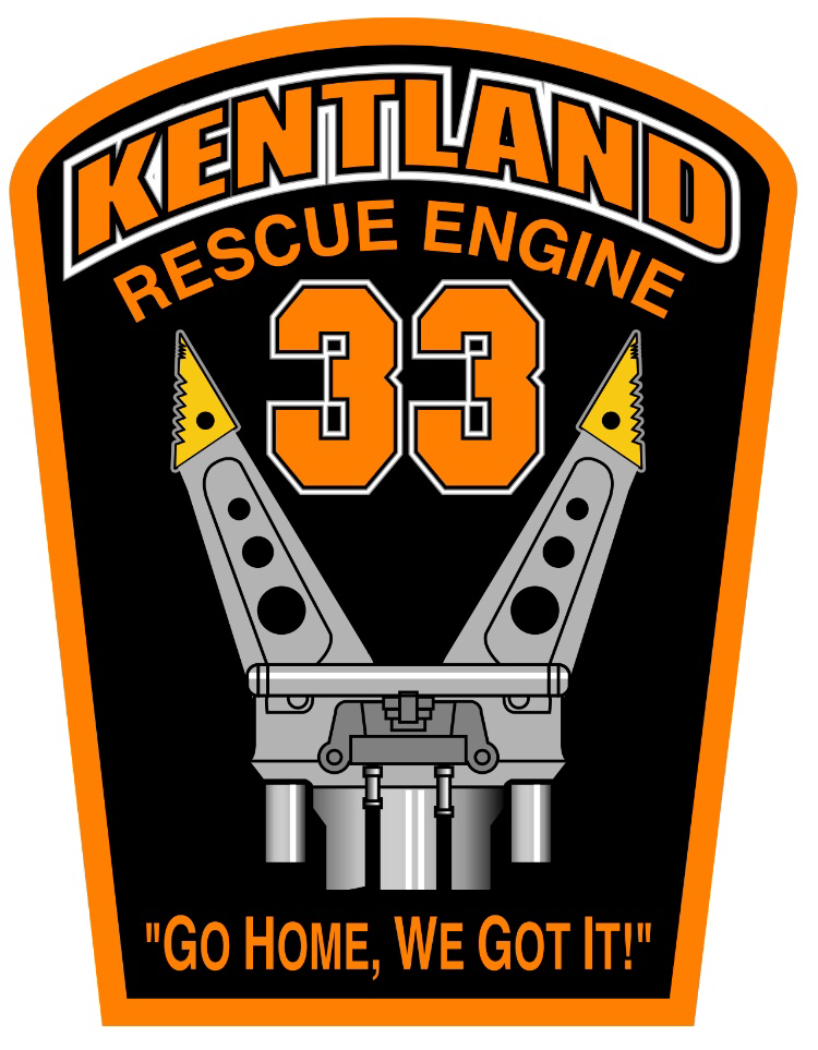 Sticker -Rescue Engine