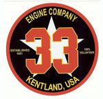 Sticker -Engine Company